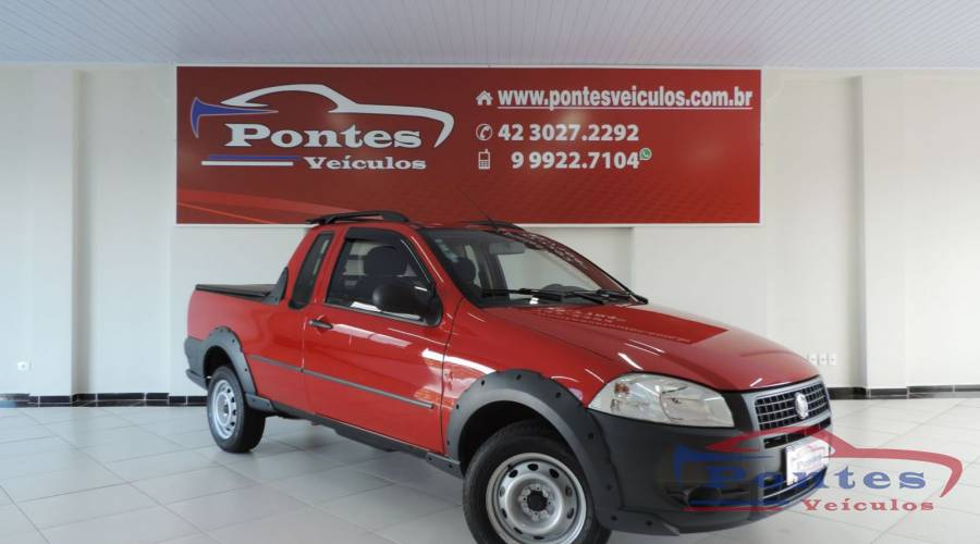 Fiat Strada 1.4 Mpi Working Ce  2013