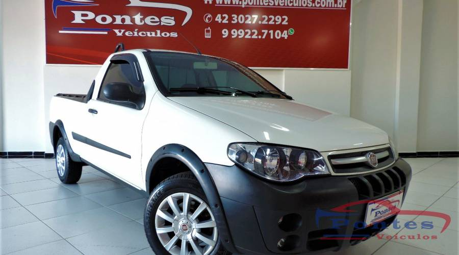 Fiat Strada Working 1.4 Cabine Simples 2012