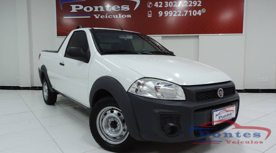 Fiat Strada Working 1.4 Cabine Simples 2016