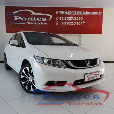 Honda Civic 2.0 Lxr 16v Flex 2015